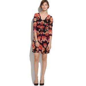 Broadway & Broome Madewell Mirrorflower Dress